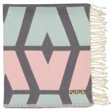 Futah_Beach_Towel_cova do vapor_ pink & grey_Folded_min