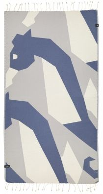 Futah - WWF Hippocampus Single Towel