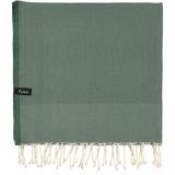 futah beach towels single Ericeira Single Towel Verdant Green Folded_min