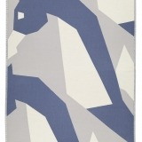 futah beach towels single Hippocampus Single Towel Indigo Blue Front_2_min