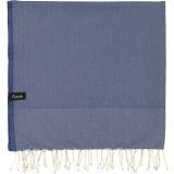 futah beach towels single Ericeira Single Towel Indigo Blue Folded_min