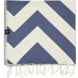 futah beach towels single Malcata Single Towel Blue Folded_1_min