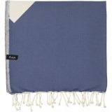 futah beach towels single Malcata Single Towel Blue Folded_min