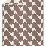 futah beach towels single Guadiana Single Towel Chestnut Back_min
